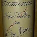 RP 93 pts! 1995 Dominus Estate Napa Valley Cabernet Sauvignon Wine