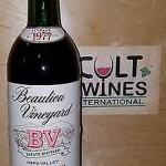 1977 Beaulieu Vineyard BV Beau Tour Cabernet Sauvignon wine, Napa valley