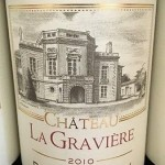 3 Bottles 2010 Chateau La Graviere Bordeaux