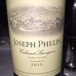 2012 Joseph Phelps Vineyards Cabernet Sauvignon Napa Valley