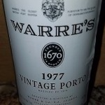 JS 94 pts! 1977 Warre's vintage port wine 750mL
